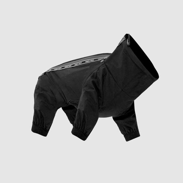 Canada Pooch Black Slush Snow Suit For Dogs