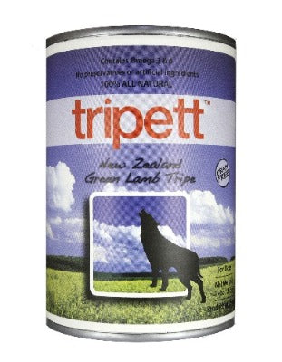PetKind Tripett New Zealand Green Lamb Tripe Wet Dog Food