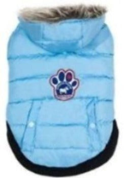 Canada Pooch North Pole Parka - Light Blue