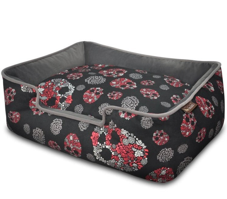 Skulls & Roses Lounge Bed by P.L.A.Y.