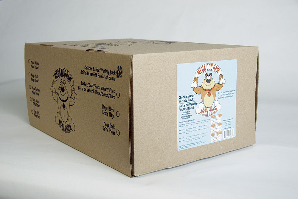 Mega Dog Chicken Variety Box - 24lb