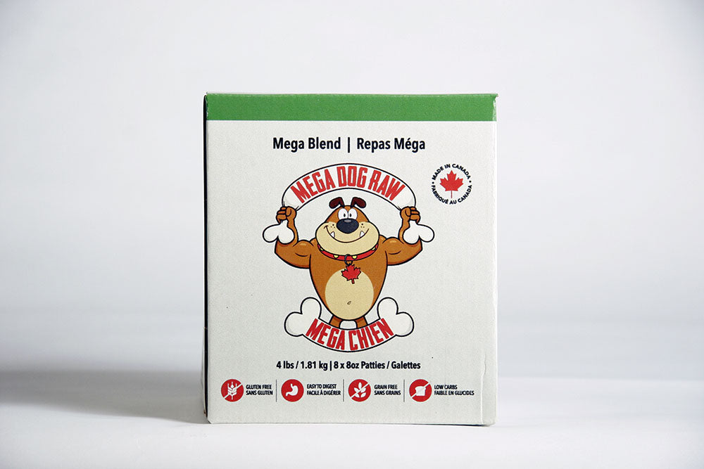 Mega Dog Blend Patties - 4lb