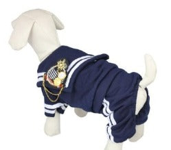Royal Navy Soldier Dog Costume