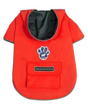Canada Pooch Torrential Tracker Raincoat - Red