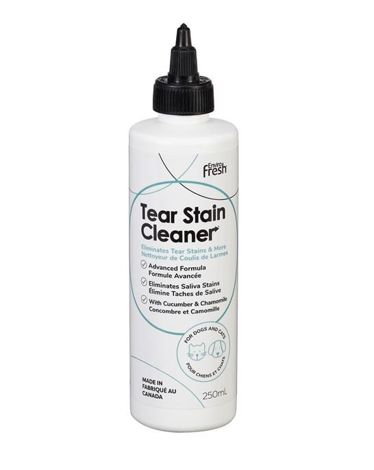 Tear Stain & Saliva Cleaner for Dogs & Cats by EnviroFresh