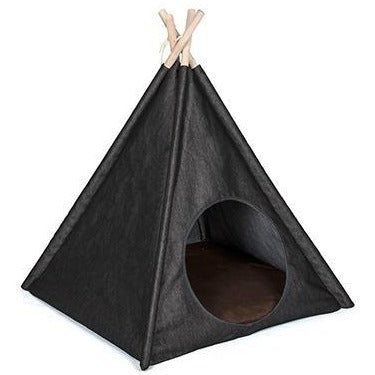 Classic Pet Teepee Tent Play Bed by P.L.A.Y. - Urban Denim