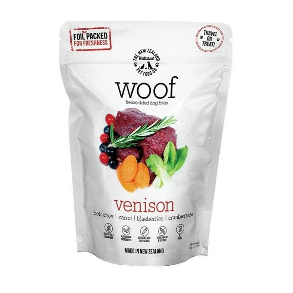 Freeze Dried Raw Venison - 50g