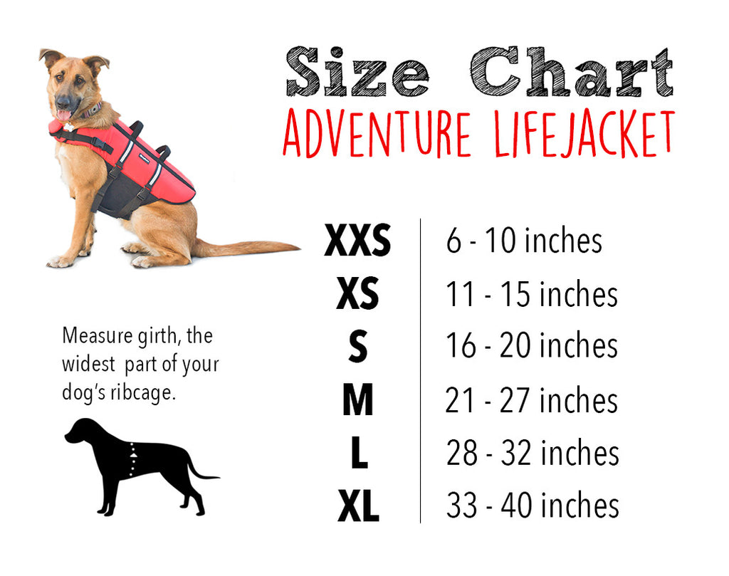 Adventure Life Jacket for Dogs