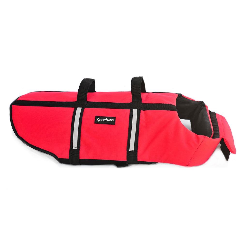 Zippy Paws Adventure Life Jacket for Dogs - Red