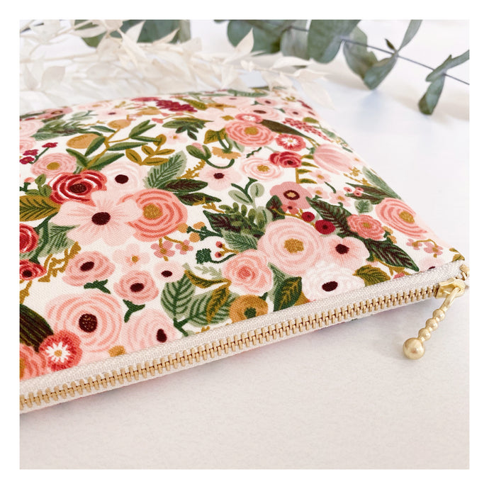 Pochette Rifle Paper & Co - Garden Party rose