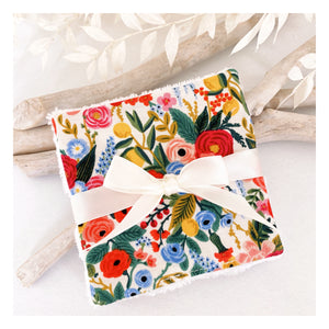 Lingettes bambou Rifle Paper & Co Garden Party Multico