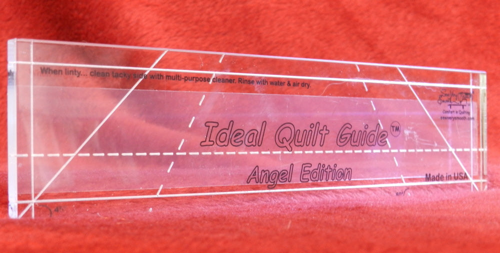 IDEAL QUILT GUIDE ANGEL EDITION