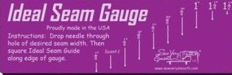 IDEAL SEAM GUAGE