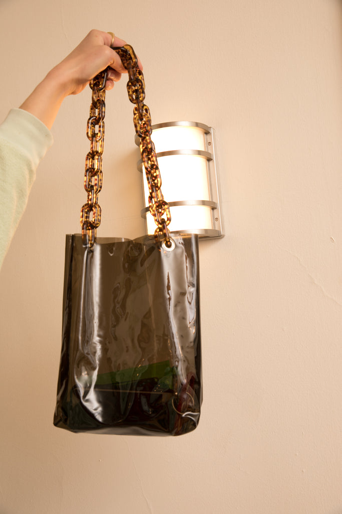 IVY TOTE - TORTOISE SHELL