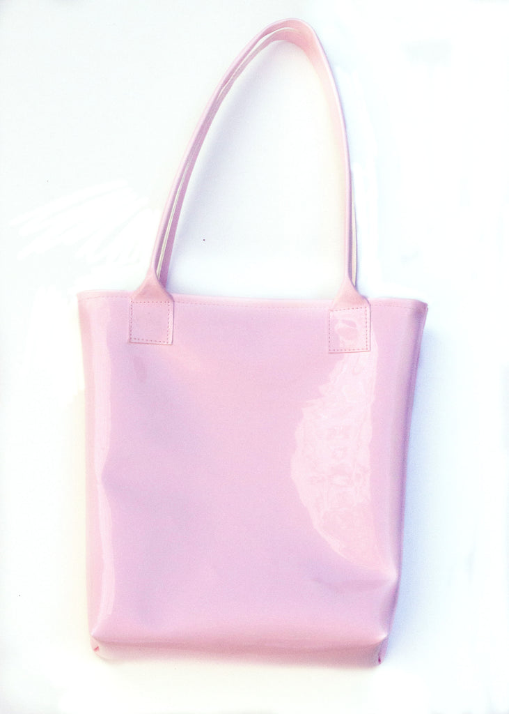 Kelly Tote - Pink Patent