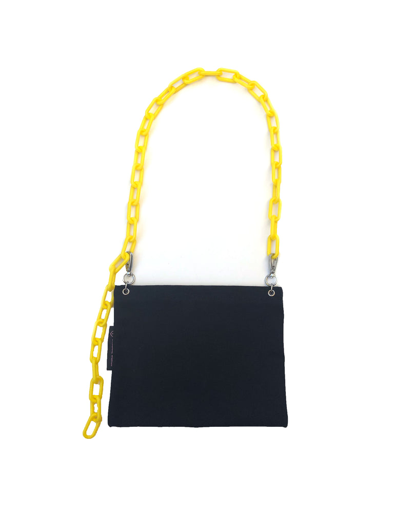 Digest Canvas Crossbody - Yellow