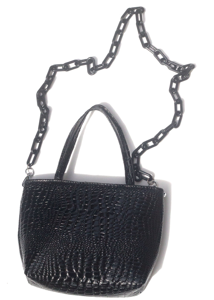 STELLA MINI TOTE - BLACK