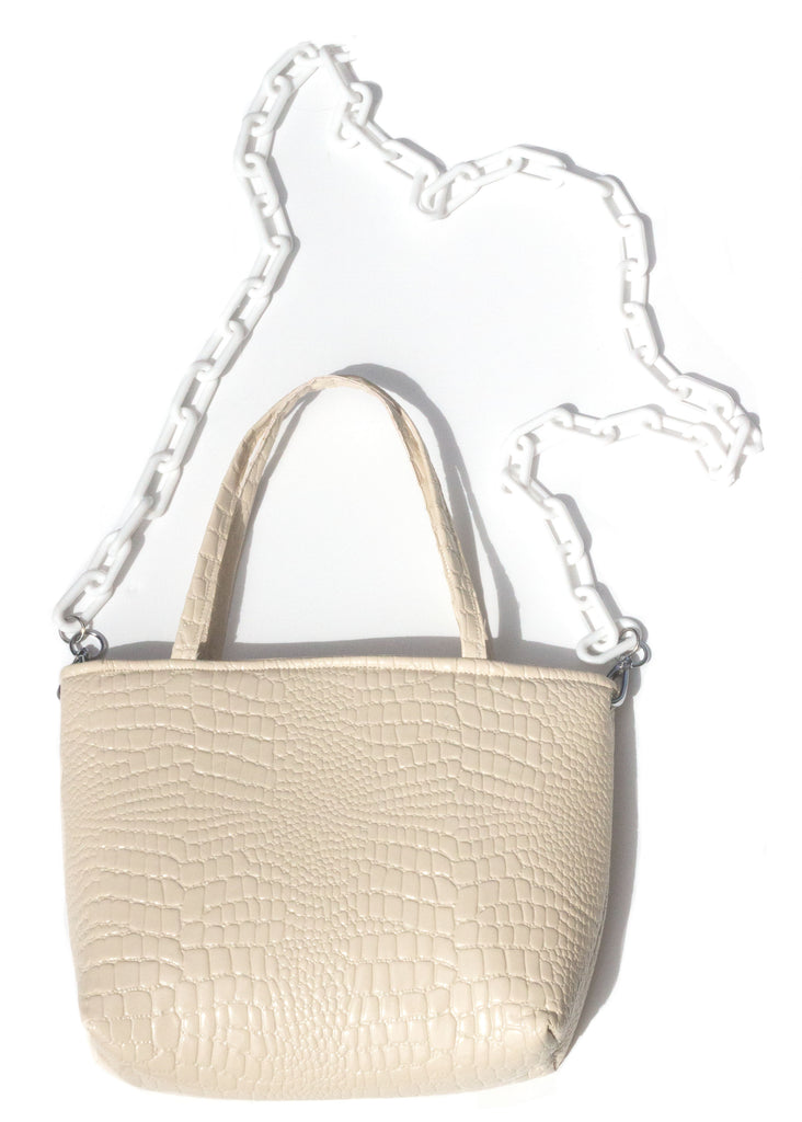 STELLA MINI TOTE - CREAM