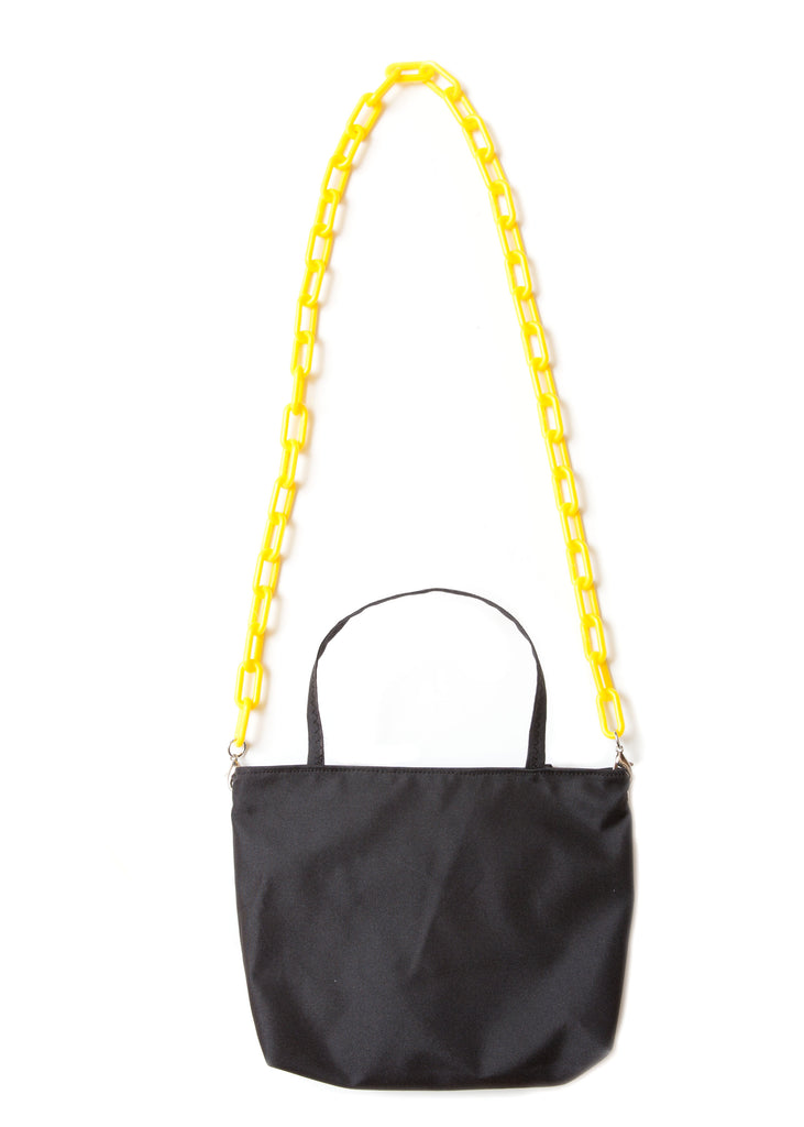 Stella Mini Tote - Waterproof Canvas with Yellow Chain