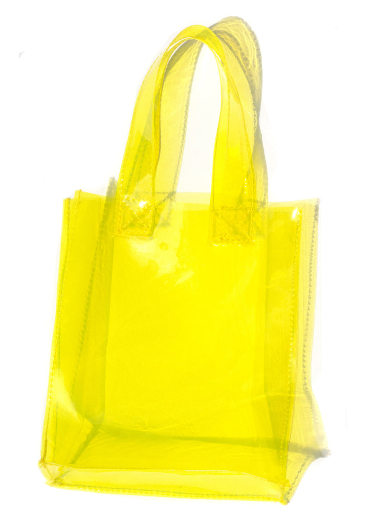 TONI TINY TOTE - LEMON
