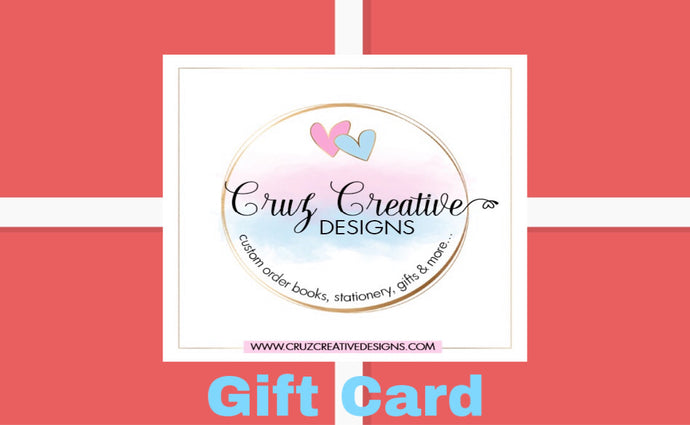 Cruz Creative Designs Gift Card