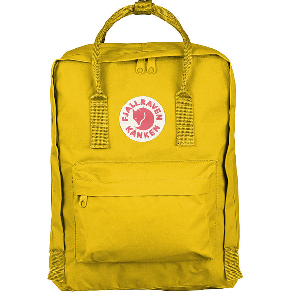db515cefbc5b The Brokedown Palace - Fjällräven Kånken Classic Backpack - Warm Yellow