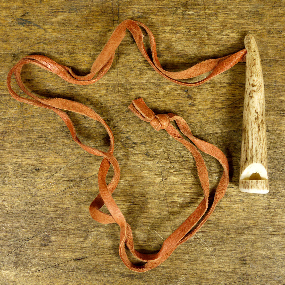 Reindeer Antler Whistle