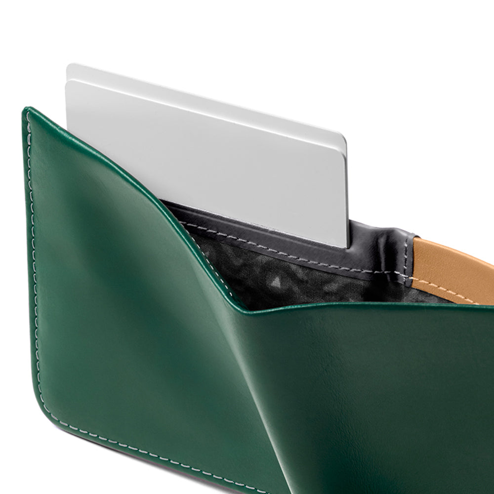 Hide And Seek Wallet - Racing Green - RFID