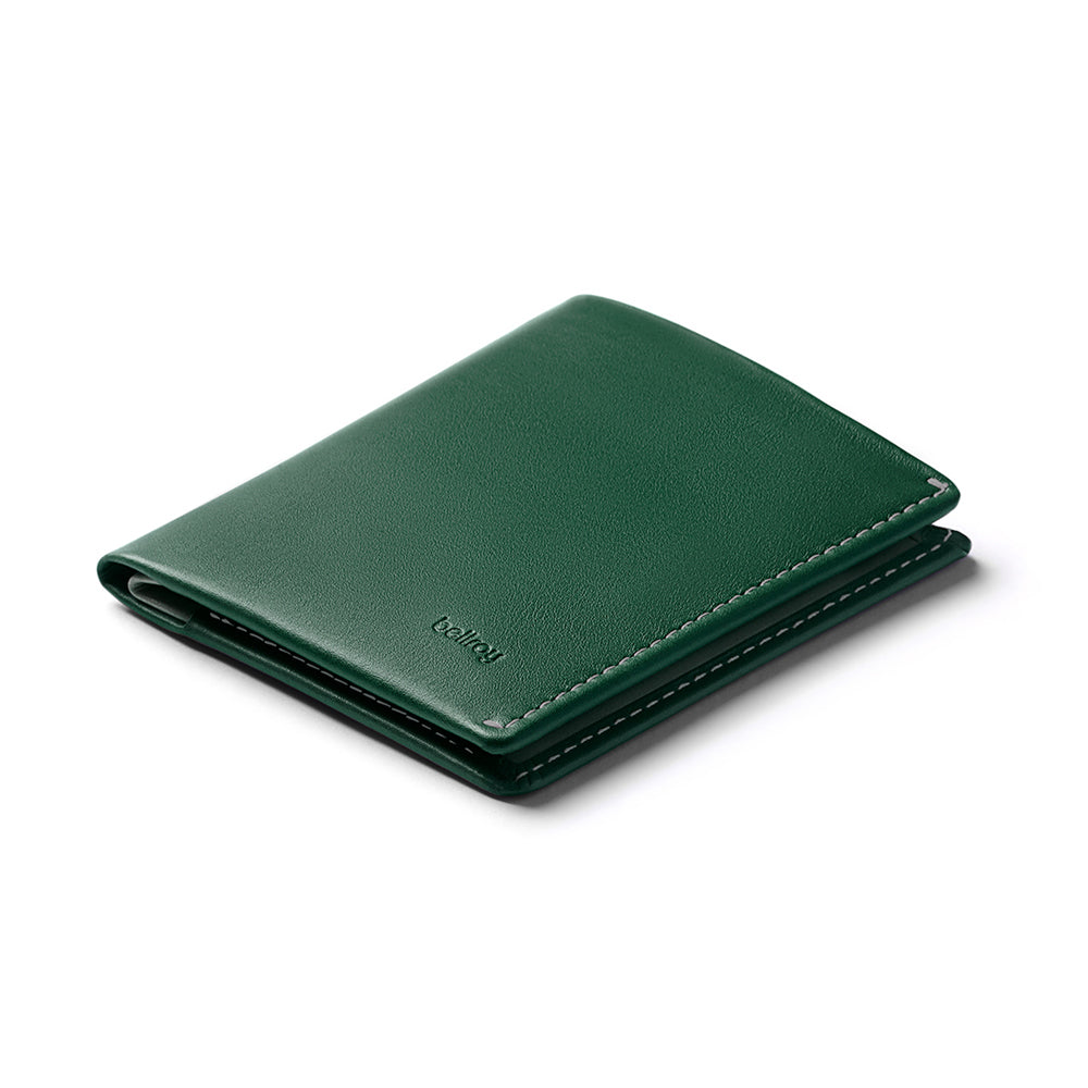 Note Sleeve Wallet - Racing Green - RFID