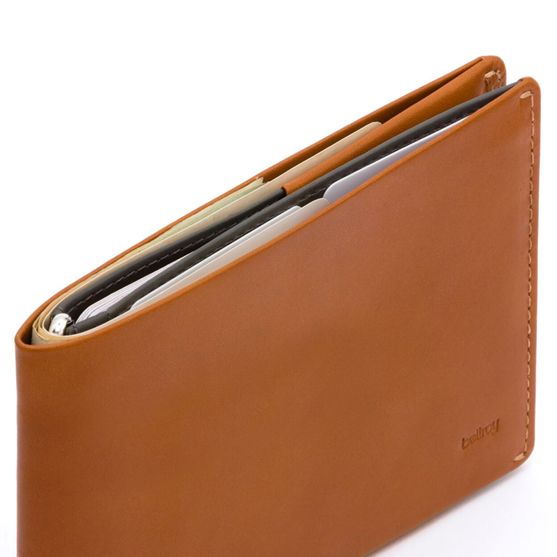 Travel Wallet - Caramel - RFID