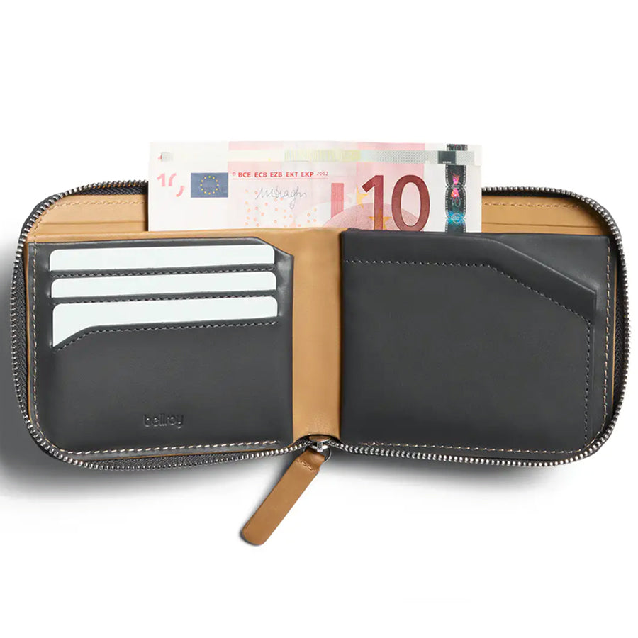Zip Wallet - Racing Green - RFID