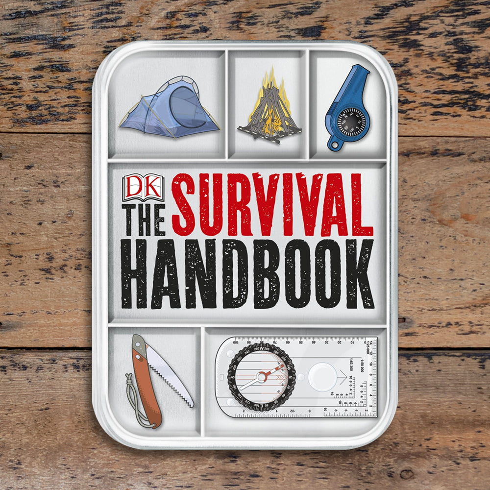 Survival Handbook & Mess Tin - Dorling Kindersley
