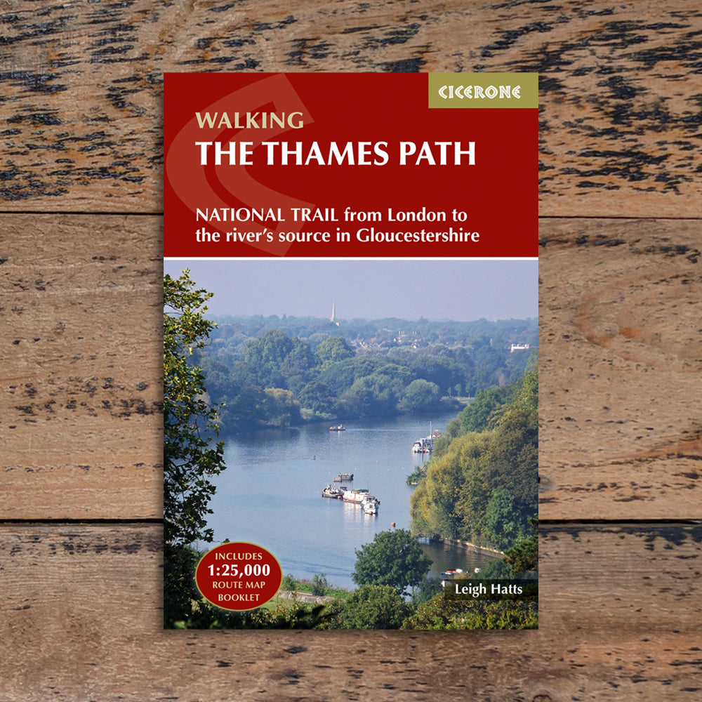 Walking The Thames Path - Leigh Hatts