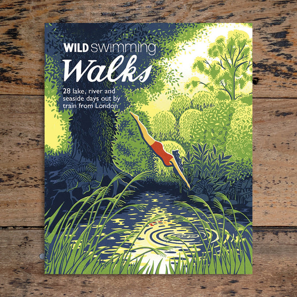 Wild Swimming: Walks Around London - Margaret Dickinson