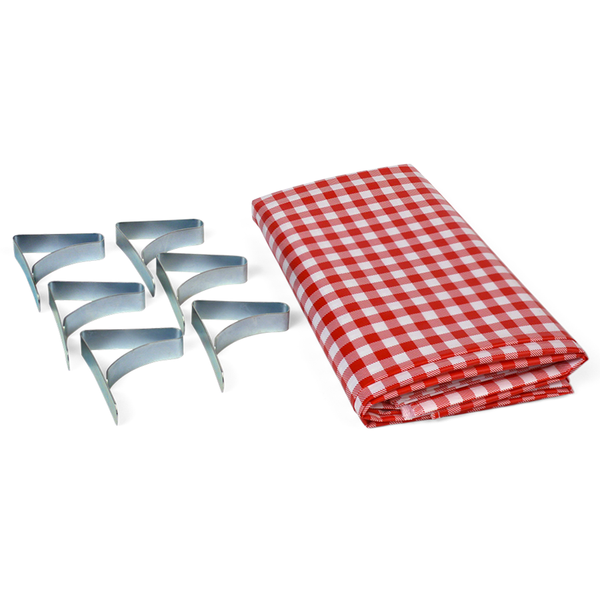 Picnic Combo Pack - Tablecloth & Clamps
