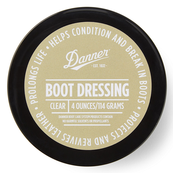 Boot Dressing - 4oz - Clear