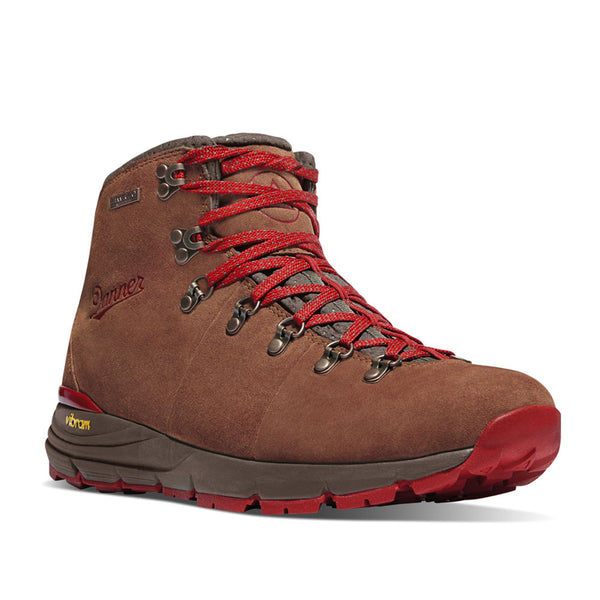 Women's Mountain 600 - Brown / Red
