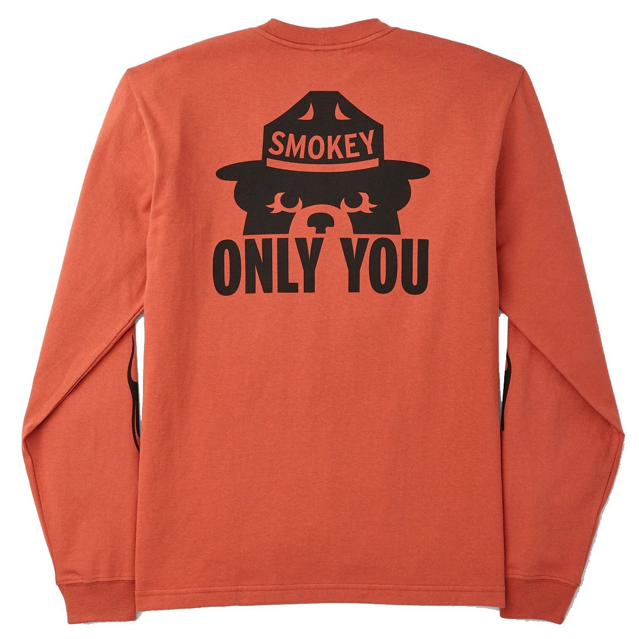 Smokey Bear Long-Sleeve T-Shirt - Flame