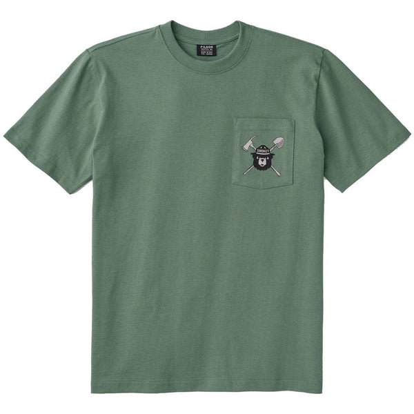 Smokey Bear Short-Sleeve One Pocket T-Shirt - Service Green