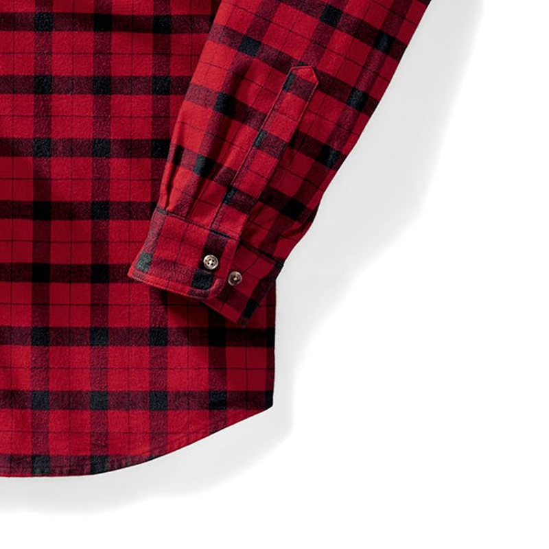 Alaskan Guide Shirt - Red/Black Plaid