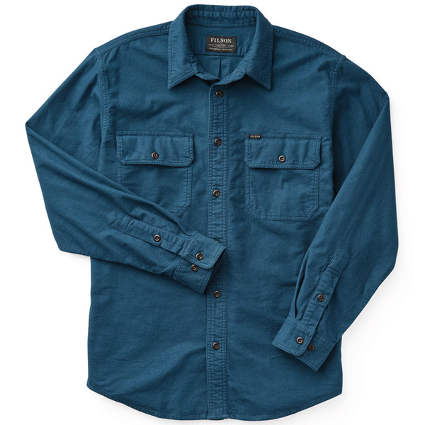 Field Flannel Shirt - Legion Blue