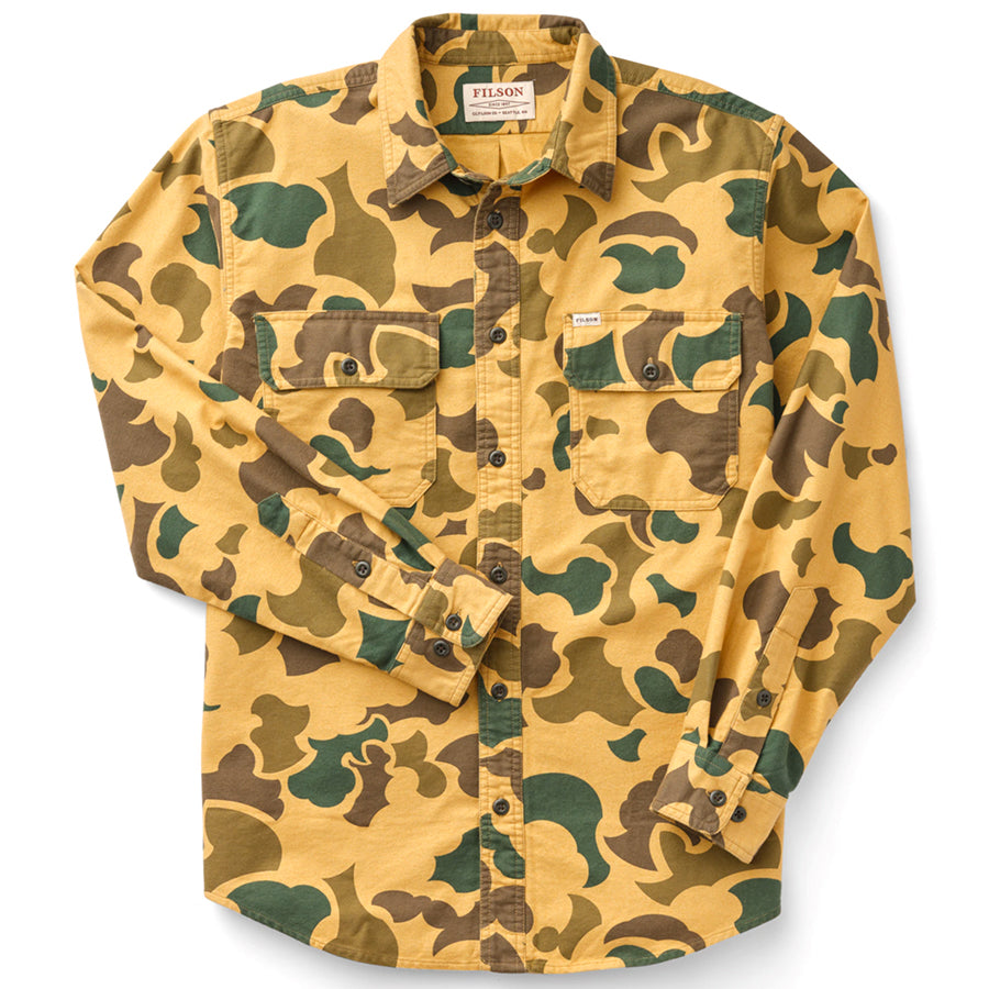 Field Flannel Shirt - Light Shrub Camo