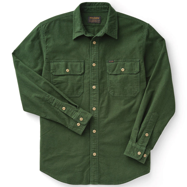 Field Flannel Shirt - Dark Moss