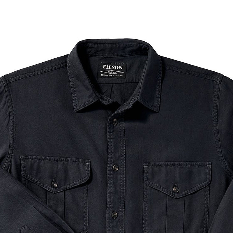 Lightweight Alaskan Guide Shirt - Midnight Navy
