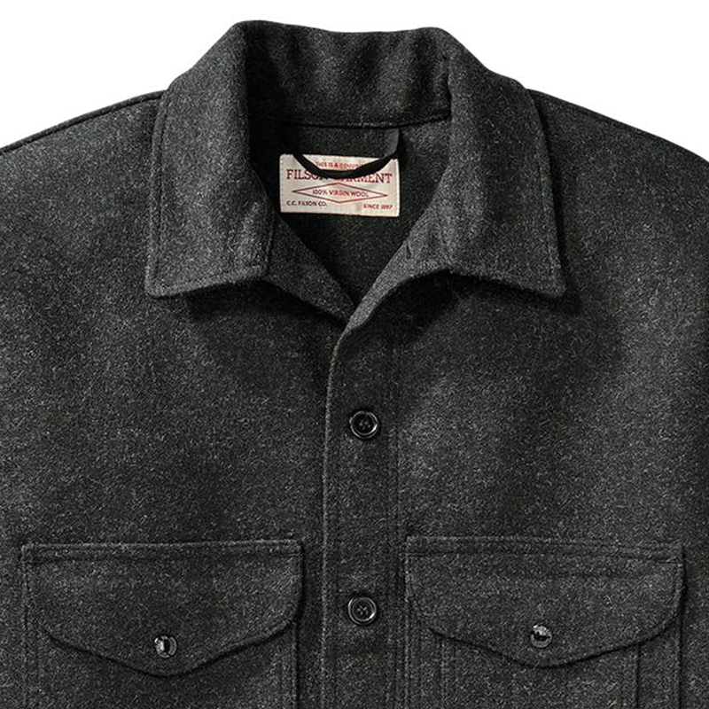 Mackinaw Wool Cruiser - Charcoal