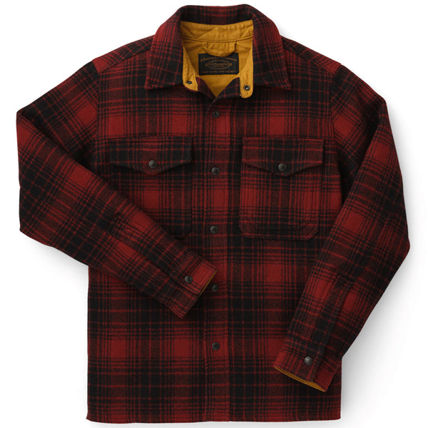 Mackinaw Jac-Shirt - Oxblood / Black