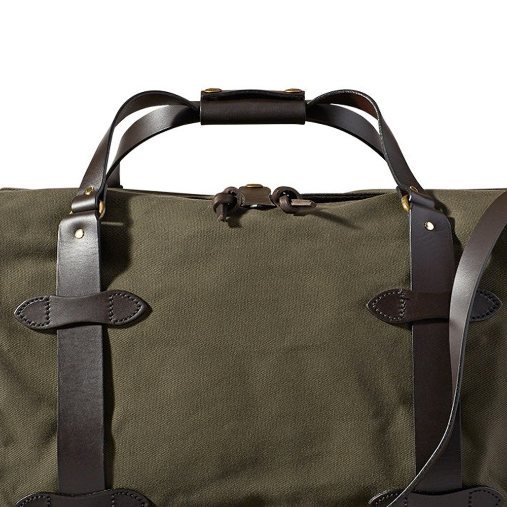 Medium Twill Duffle Bag - Otter Green