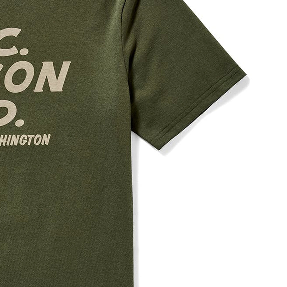 Short Sleeve Outfitter Graphic T-shirt - Otter Green
