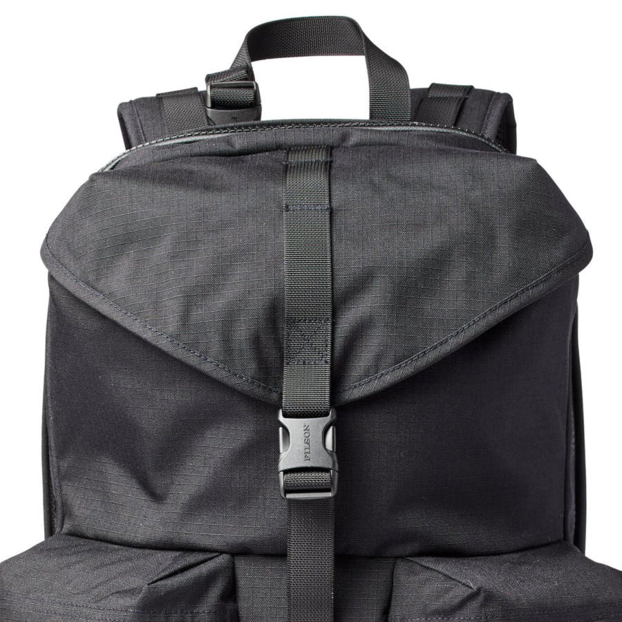 Ripstop Nylon Backpack - Black