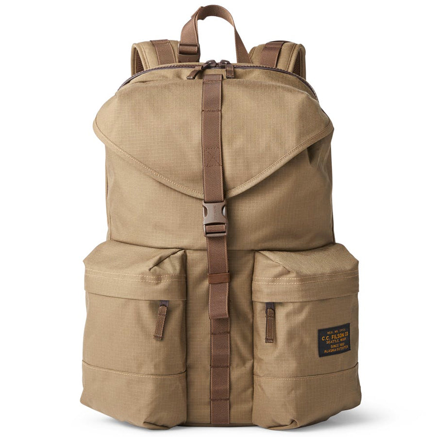Ripstop Nylon Backpack - Field Tan
